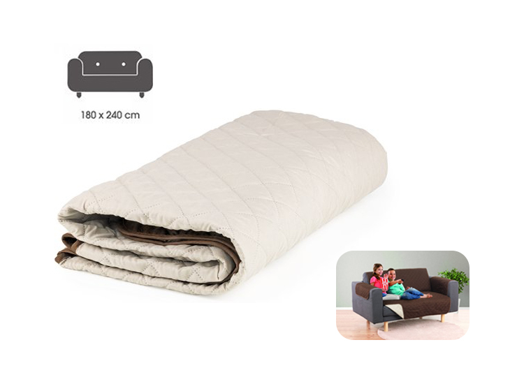EasyMaxx Couch Protector - 2-Persoons bank beschermhoes- 240x180cm