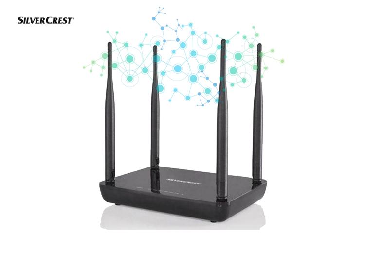 SILVERCREST® WiFi router