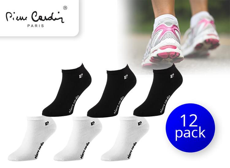 Pierre Cardin korte sokken - 12 paar - enkelsokken - sneakersokken