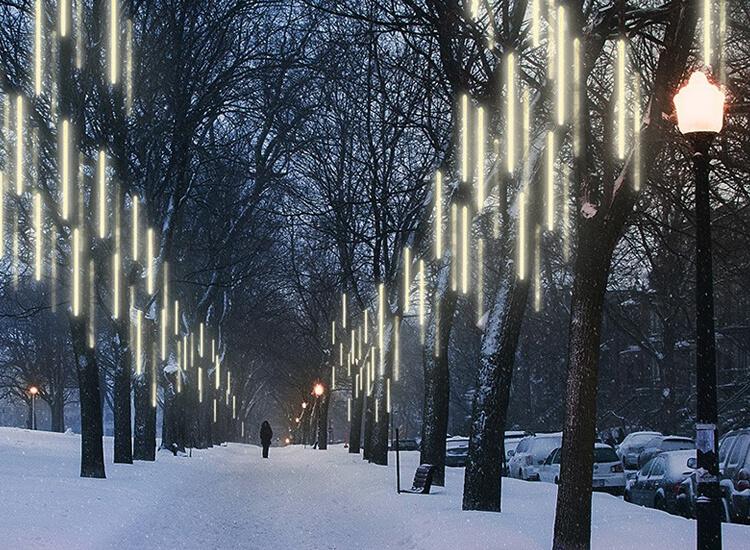 Magische warm white led druppelregen verlichting