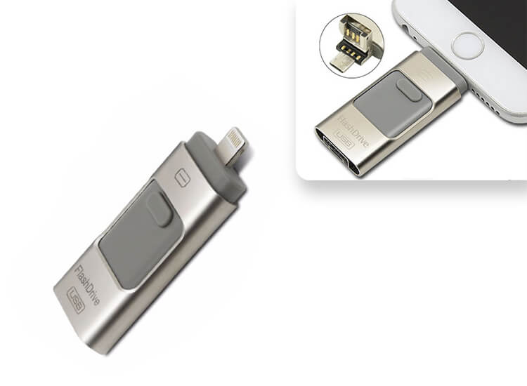 Flash drive - Extern geheugen voor smartphone of tablet