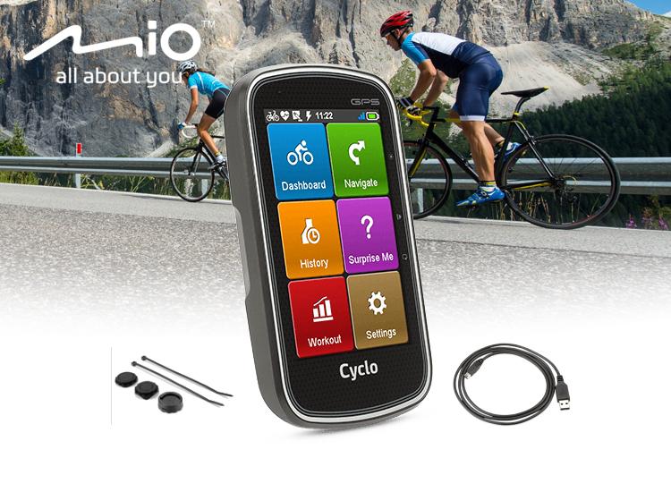 Mio Cyclo 405 Fietsnavigatie - GPS Europa