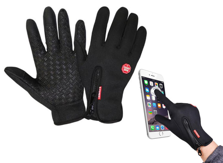 Touchscreen Sport Handschoenen - Antislip - Waterafstotend - Winddicht