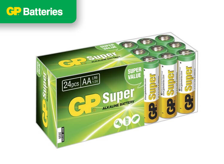 Super Alkaline box 24 AA