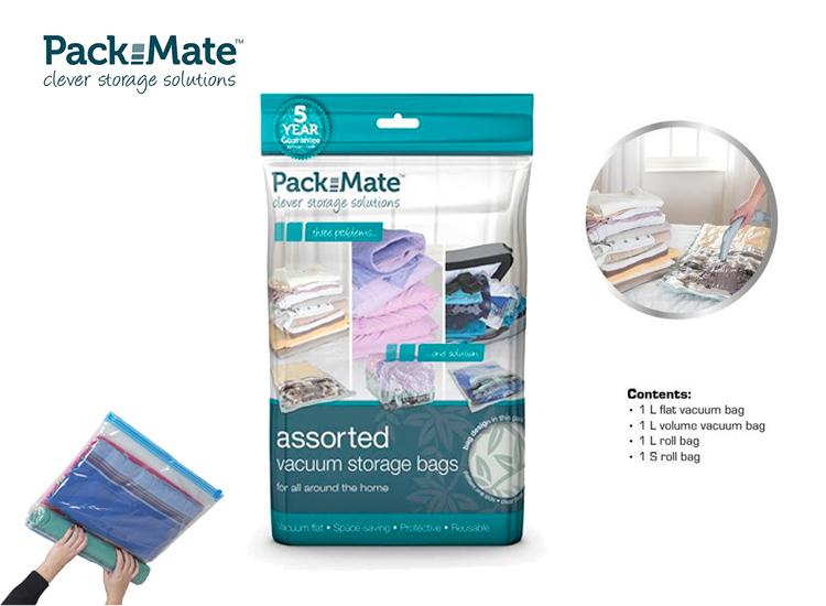 Foto PackMate - Vacuüm Opbergzakken 4-delige set