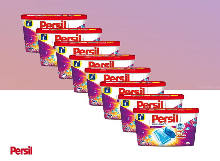 Persil Duo-Caps Wasmiddel - Color - 120 Caps