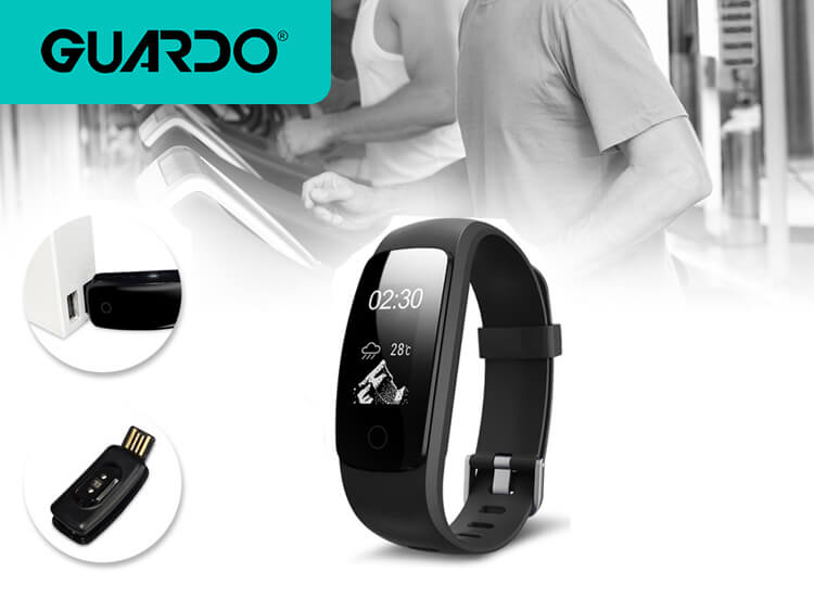Guardo Fit Coach HR Multi - Activity Tracker - Dealdonkey dagaanbieding