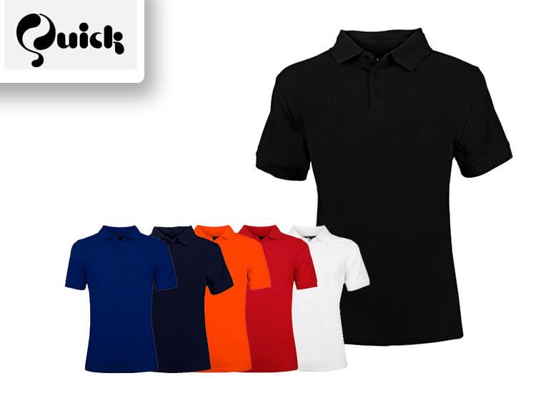 Quick Herenpolo - in 6 kleuren beschikbaar - Gemaakt van 100% katoen,Verkrijgbaar van S t/m 4XL,Pasvorm regular fit