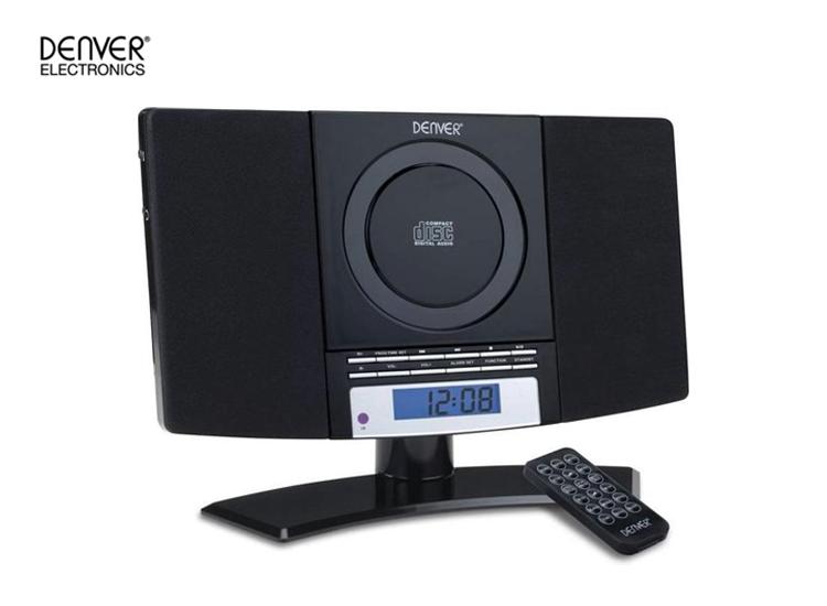 Denver MC-5220 - Music system met FM radio en CD Speler - Zwart