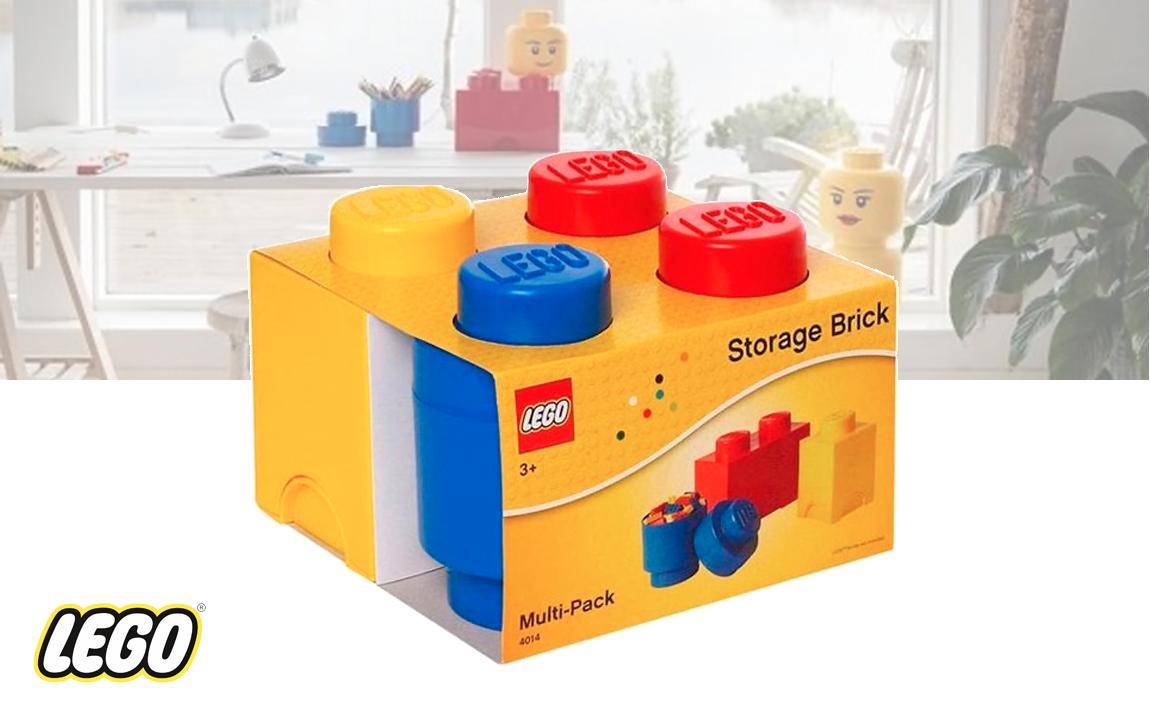 LEGO Storage Opbergbox - Set van 3 stuks