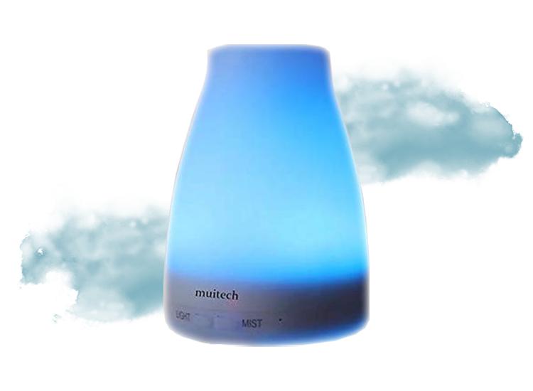 Aroma Diffuser met RGB led licht - Luchtbevochtiger