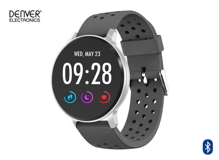 Denver SW-170 - Smartwatch met Bluetooth - Grijs