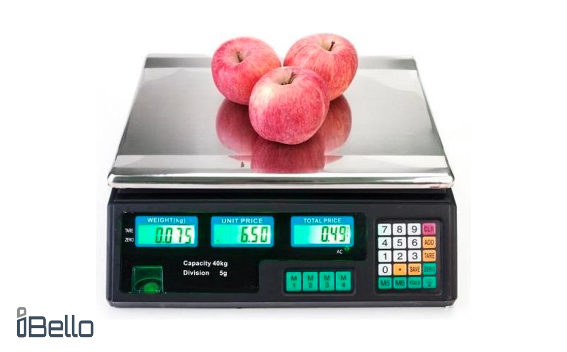 iBello Digitale horeca weegschaal - Tot 40 kg