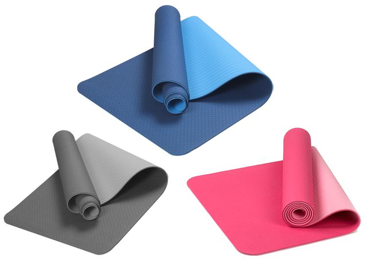 Yoga mat - Fitness mat - Sport mat - Anti slip - Binnen & Buiten - 183x61x0,6m