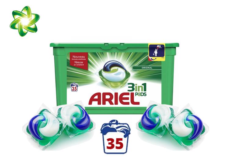 Afbeelding van Ariel 3in1 Pods - 35 wasbeurten