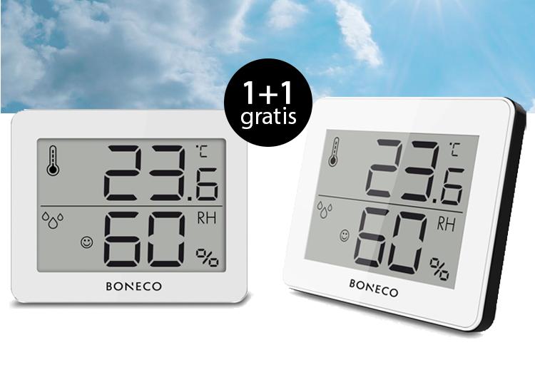 Boneco X200 thermo-hygrometer 1+1 Gratis