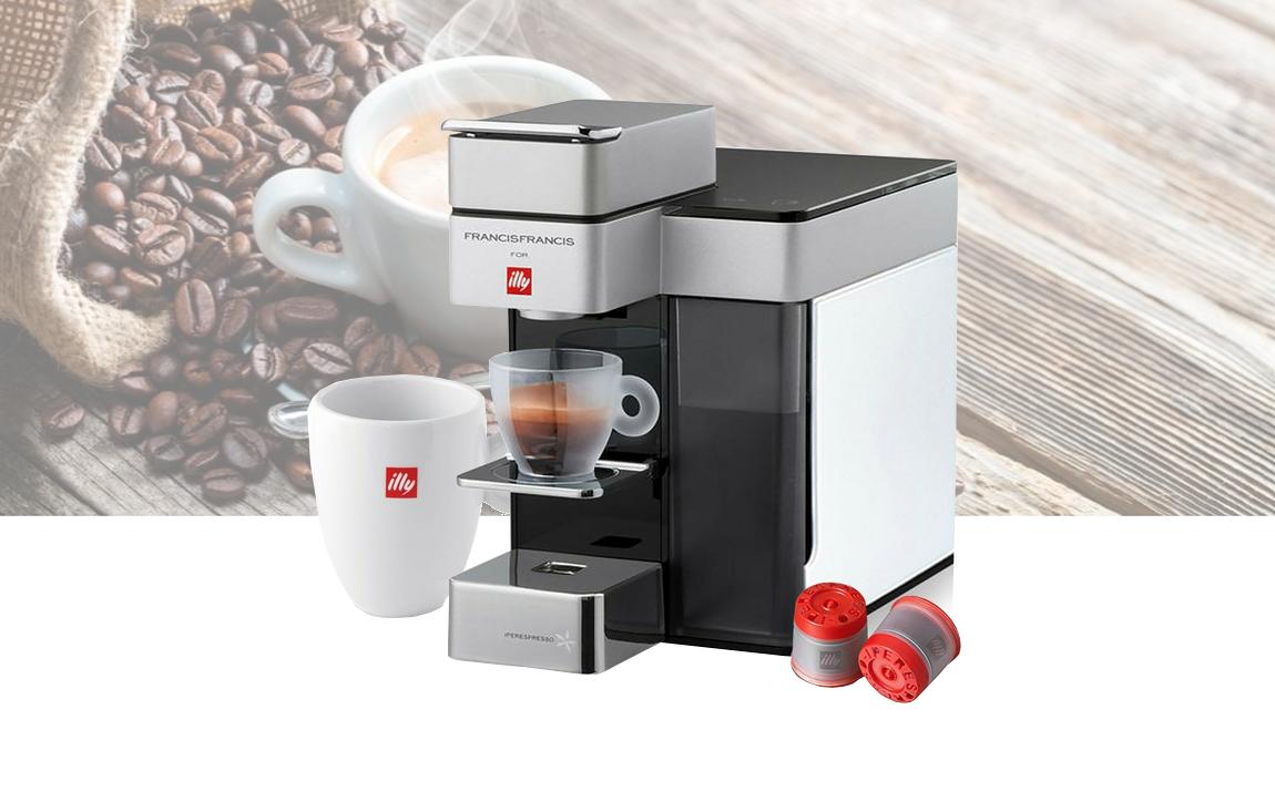 Illy Y5 Iperespresso Koffiemachine