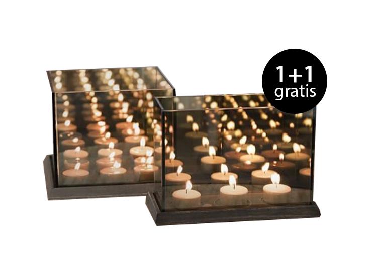 Gusta Waxinelichtjeshouder - Voor een magisch effect 1+1 Gratis