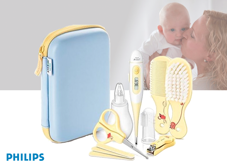 Foto Philips Avent Babyverzorgingsset - 17,8 x 12 x 5,6 cm - Meerkleurig