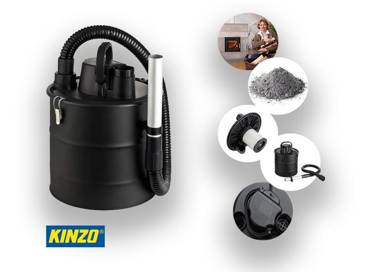 Kinzo As stofzuiger - 800 Watt - Snoerlengte 3 meter
