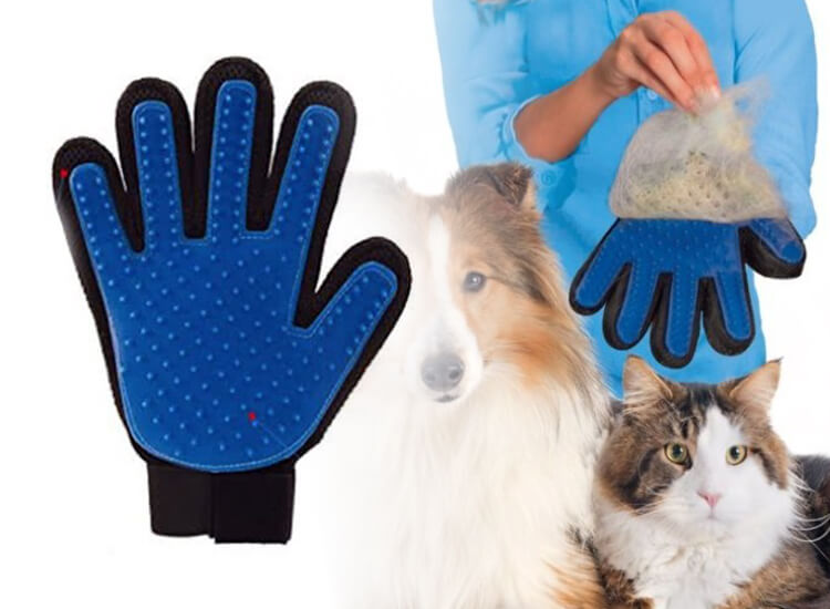 Dagaanbieding - Dierenhaar handschoenen dagelijkse koopjes