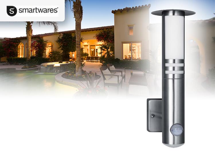 Dagaanbieding - Smartwares RVS70LED buiten wandlamp dagelijkse koopjes