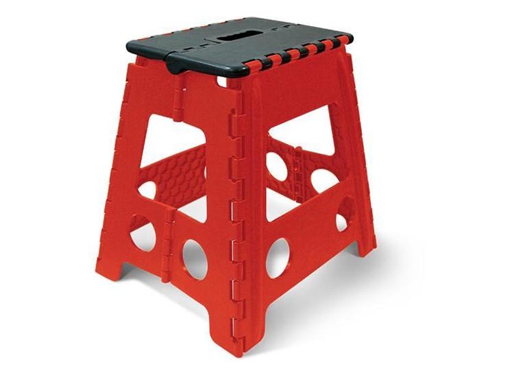 Noviplast opvouwbare stoel - Easy Step - Rood
