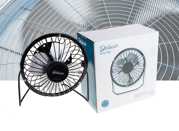 Deluxa Bureau ventilator