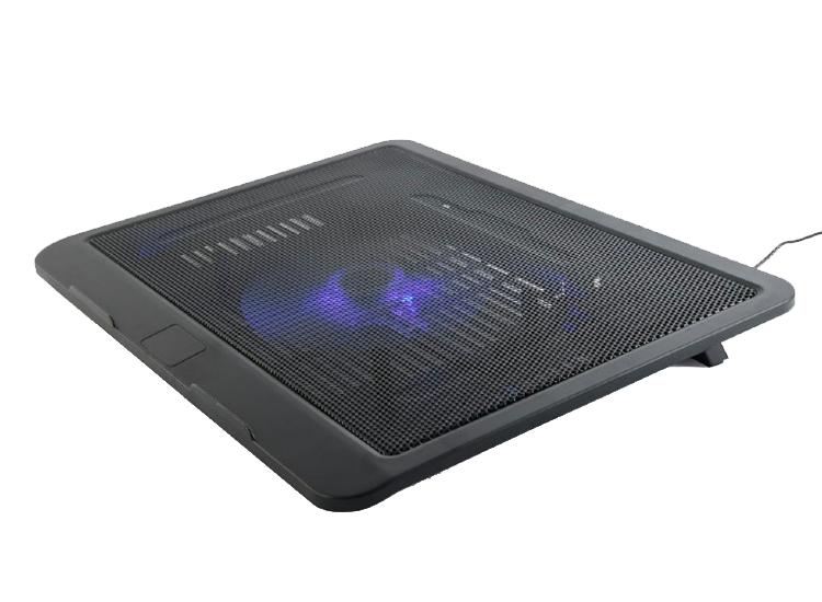 Gembird laptopstandaard met koeling - zwart