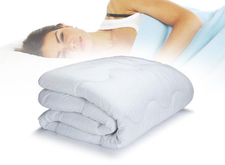 Eazy Sleep 4 seizoenen dekbed 240x220 cm 100 % katoenen tijk