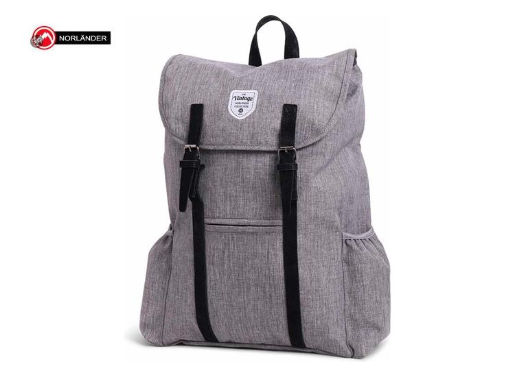 Norl�nder Twin Tone Backpack Adventurer Grijs