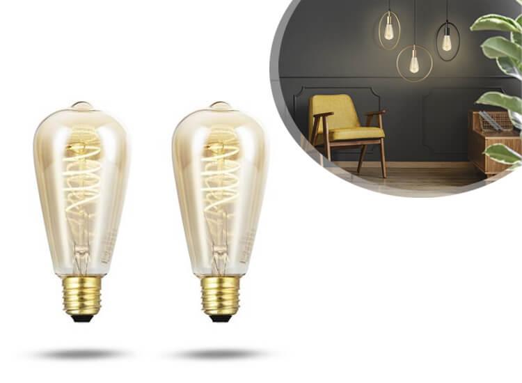 LED Lovers Kooldraadlamp 64mm - 2-pack
