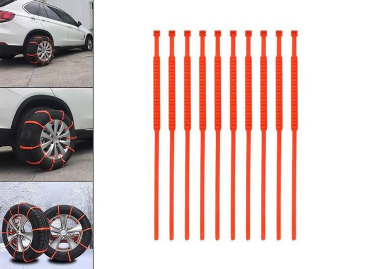 Benson Auto Sneeuwgrips - 10 tractiebanden
