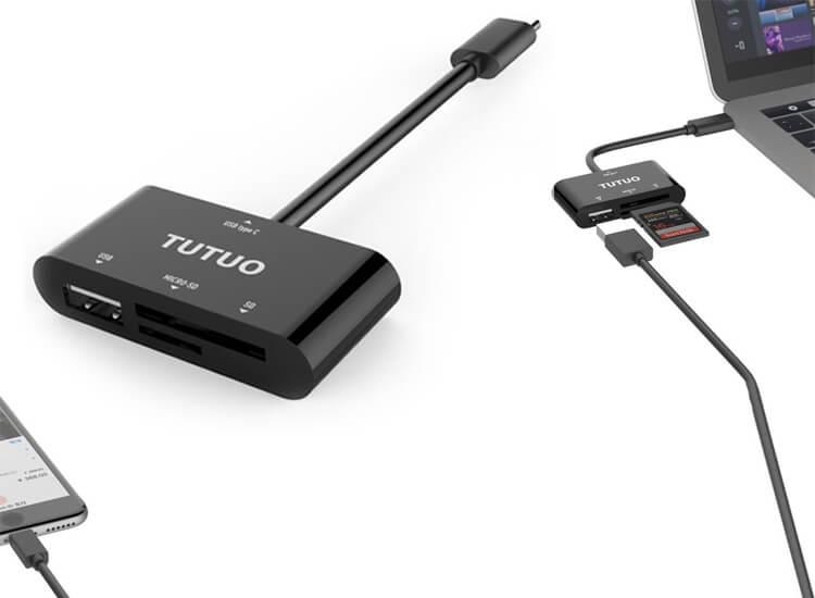 USB-C Adapter Tutuo
