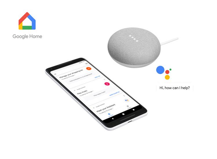 Google home mini - Assistant mini speaker - Ondersteunt Nederlands - Wit - Op afstand apparaten bedienen,Krijg informatie op verzoek,Speel muziek af die je wilt horen,Vraag informatie aan Google Assistant