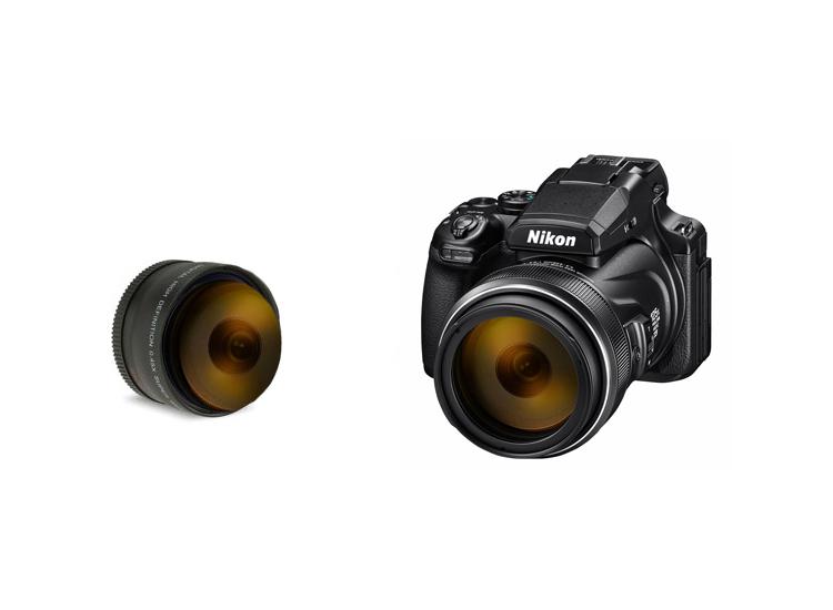 Foto Groothoek- en macrolens - 52 MM - Nikon