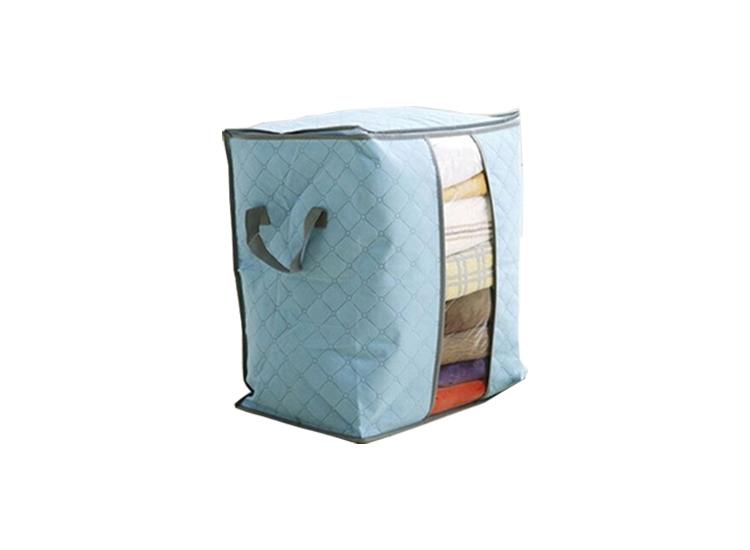 Kleding opbergbox - Opbergdoos - Met deksel - Blauw