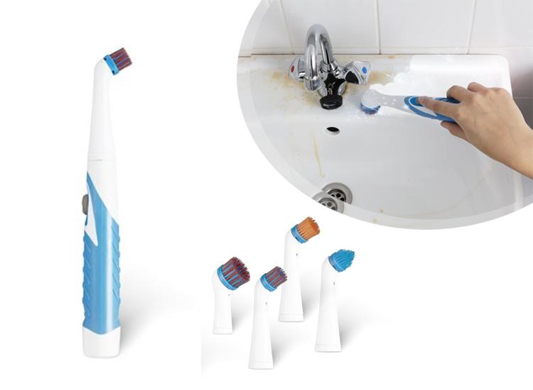 Sonic Scrubber Elektrische Reinigingsborstel