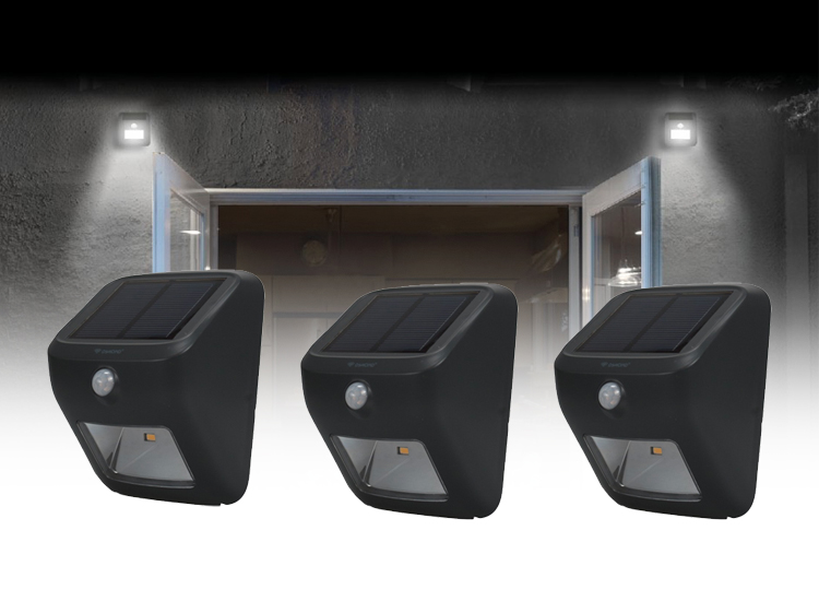 Korting Dymond Solar Led lamp 3 stuks