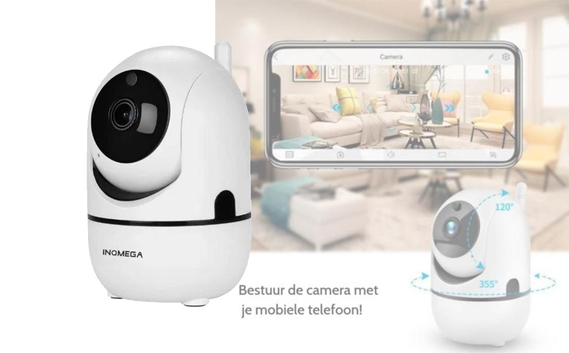 360� Wifi IP camera - 1020P - Wit