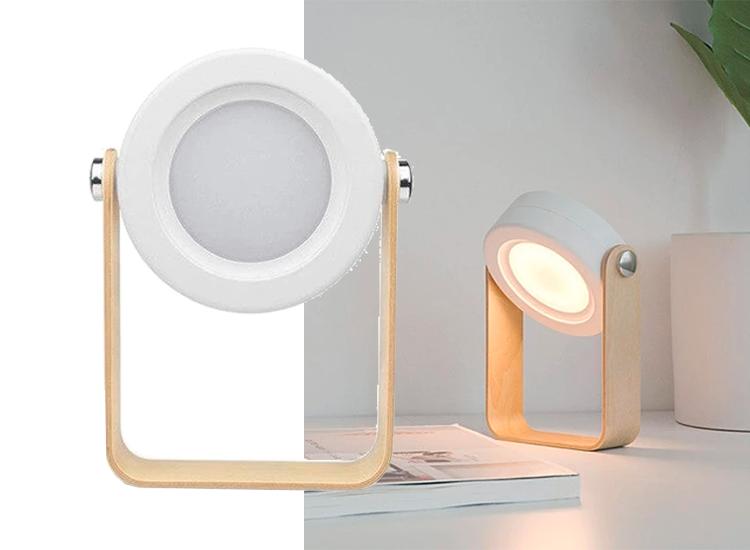 Zeer veelzijdig tafellamp - Opvouwbaar - Wit