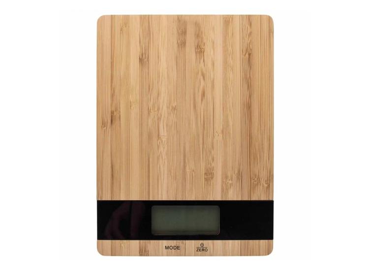Kitchen & Home Bamboe Keukenweegschaal - Digitaal