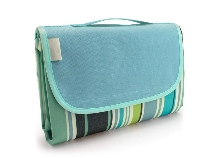 XXL Picknickkleed - Plaid 150x200cm - Blauw/Groen