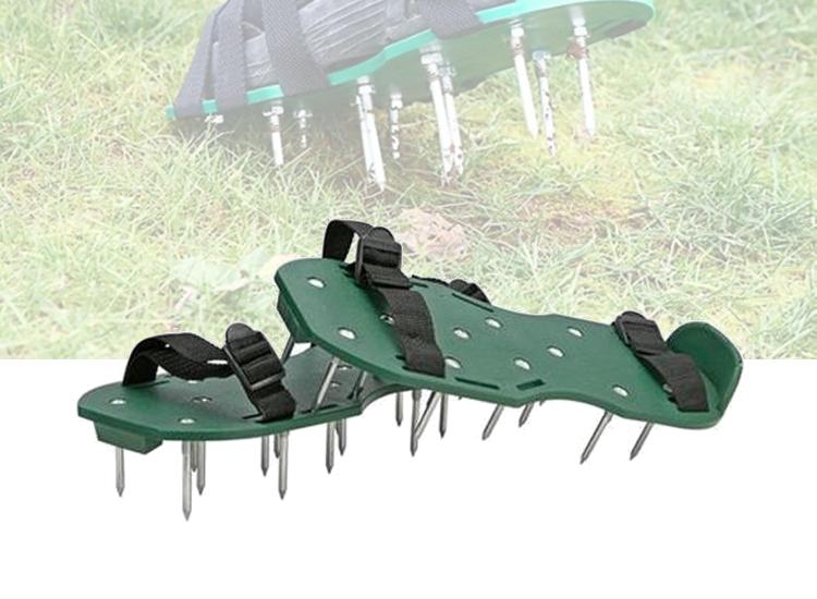 Gras Beluchtings Sandalen - Gras-verticuteer schoenen