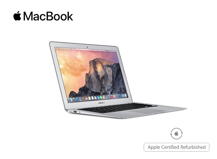 Macbook Air 2015 - 1.6 Ghz - 8GB - 128GB - Refurbished