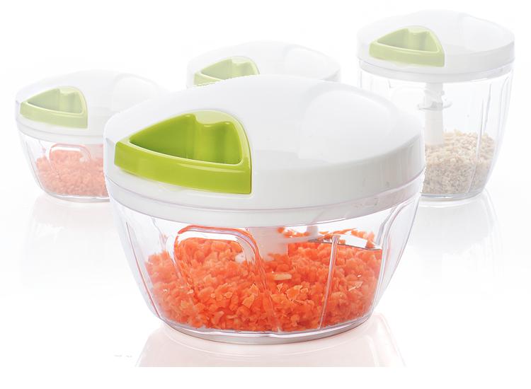 Kitchen & Home Groentehakker - Hakmolen - Groentesnijder - Verschillende Maten Beschikbaar