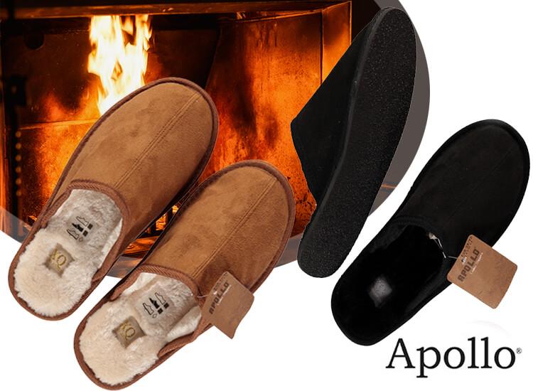 Apollo Pantoffels - Zacht, warm en met een stevige zool