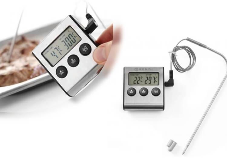 Dagaanbieding - Digitale Keukenthermometer - Inclusief timer, Alarmfunctie en Batterij dagelijkse koopjes