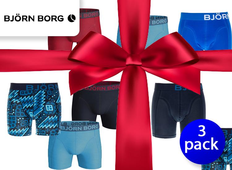 Bj�rn Borg heren boxers verrassingspakket - 3 pack