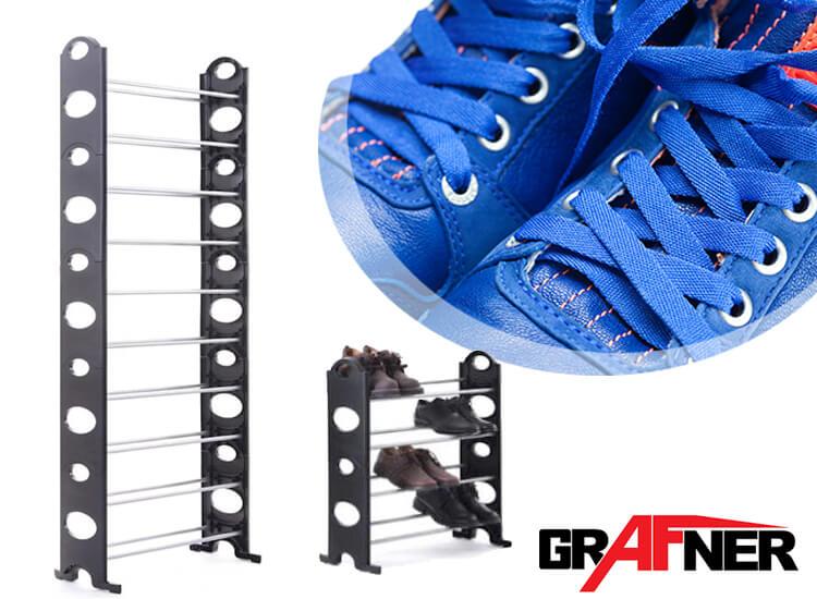 Grafner schoenenrek - Geschikt tot 40 paar schoenen